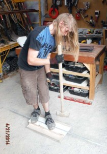 billy making absorption fins