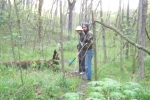 John and Tony in the paw paw patch
